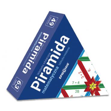 Piramida matematyczna M2. Tabliczka mnożenia