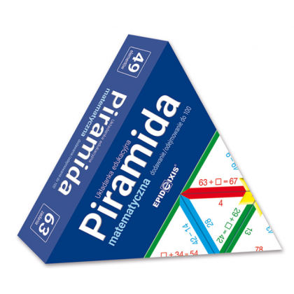 Piramida matematyczna M4. Dodawanie i odejmowanie do 100