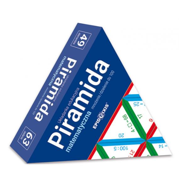 Piramida matematyczna M5. Mnożenie i dzielenie do 100