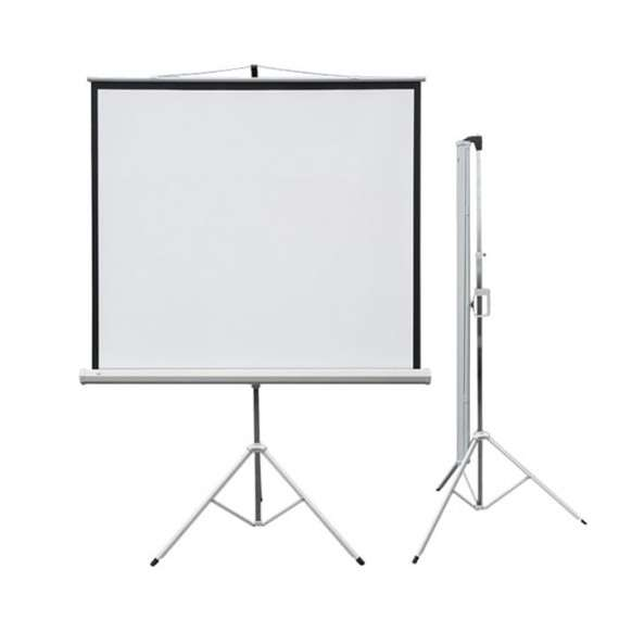 Ekran projekcyjny PROFI przenośny 150x150