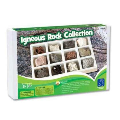 Kolekcja skał magmowych