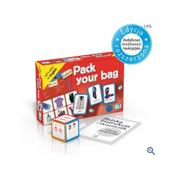 Pack your bag - gra językowa