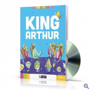 Lektura King Arthur + CD Audio A2.1