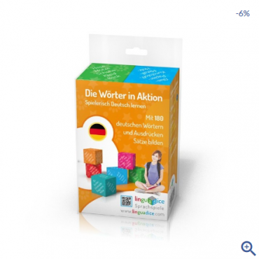 Die Wörter in Aktion - gra językowa