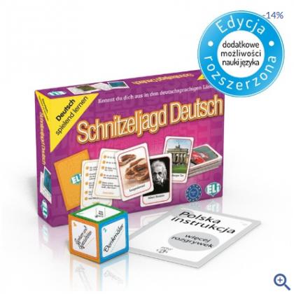 Schnitzeljagd Deutsch - gra językowa