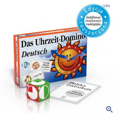 Das Uhrzeit-Domino - gra językowa