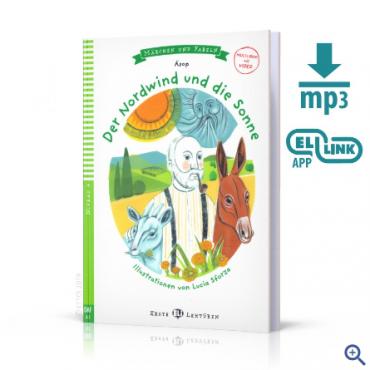 Lektura Der Nordwind und die Sonne + audio mp3 + video