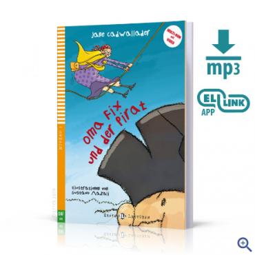 Lektura Oma Fix und der Pirat + audio mp3 + video