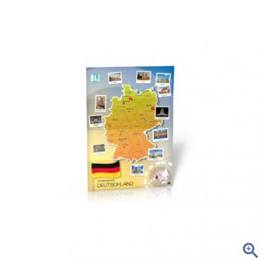 Landkarte Deutschland - mapa ścienna