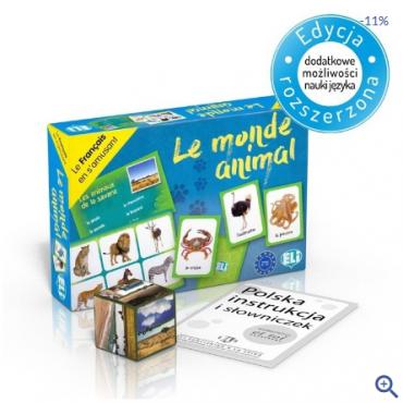 Le monde animal - gra językowa