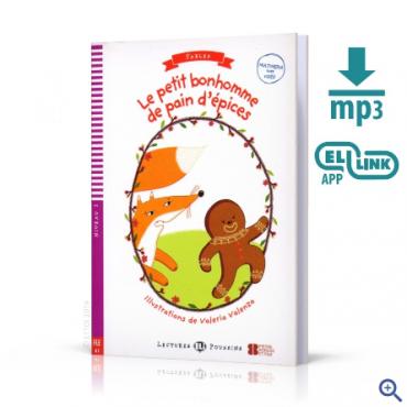 Książka Le petit bonhomme de pain d'épices + audio mp3 + video