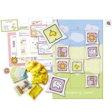 Złapmy lwa 3×4! Zestaw (gra dywanowa i gry planszowe)