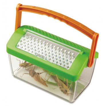 Domek do obserwacji owadów z rączką