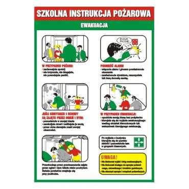 Szkolna instrukcja pożarowa