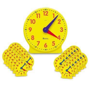 Zestaw zegarów szkolnych