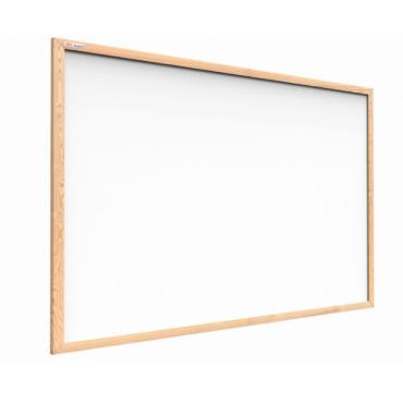 Tablica suchościeralna magnetyczna 100x80 cm rama drewniana