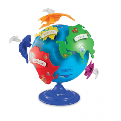 Globus układanka puzzle 20 cm
