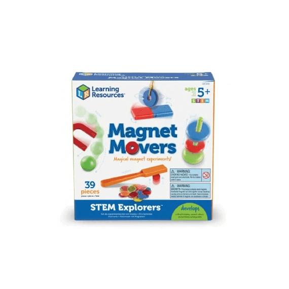 Klasowy zestaw magnetyczny 39 el.