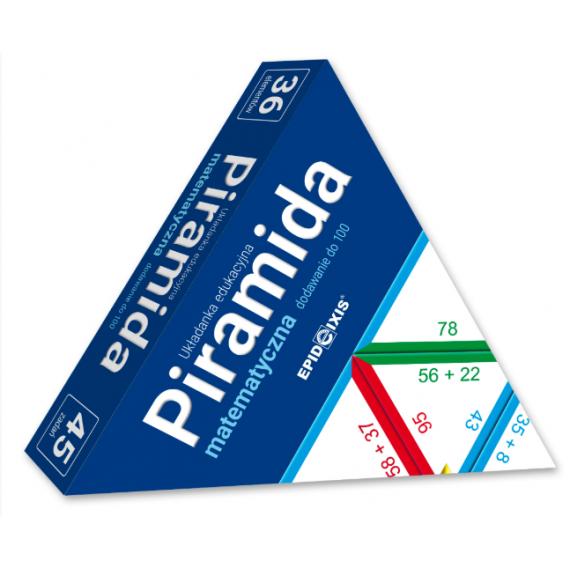 Piramida matematyczna M1. Dodawanie do 100